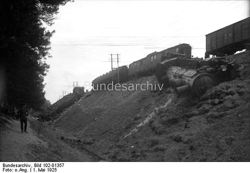 Zamach na niemiecki pociąg pod Starogardem Gdańskim