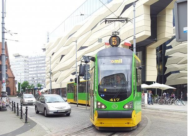 Poznańskie tramwaje wracają na ul. Święty Marcin