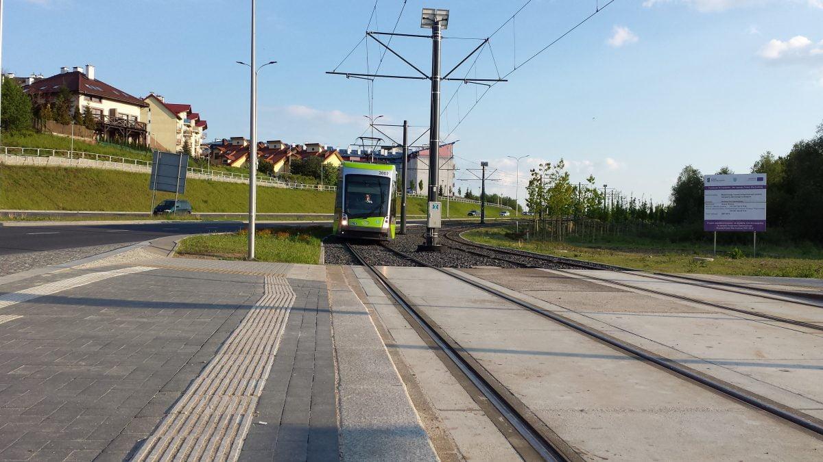 Olsztyńska sieć tramwajowa będzie rozbudowana, ale z opóźnieniem