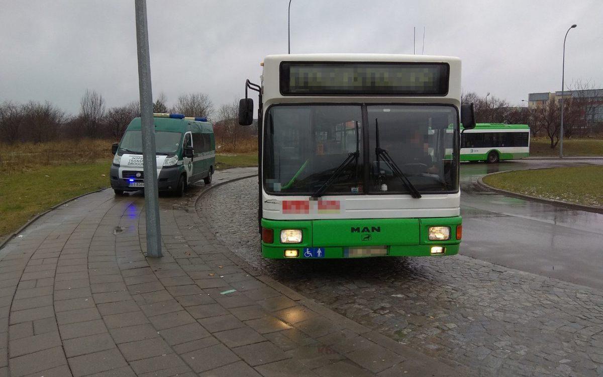 Nie wszystkie autobusy miejskie są sprawne
