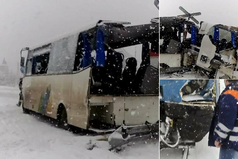 "Wypadek pociągu KŚ ""Ornak"" w Szaflarach"
