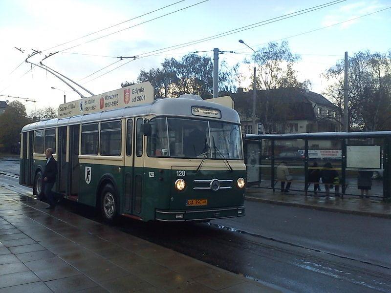 Trolejbusy zabytkowe w PKT Gdynia