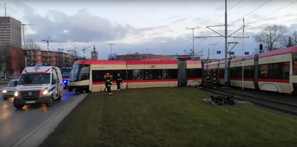 Dlaczego wykoleił się gdański tramwaj?