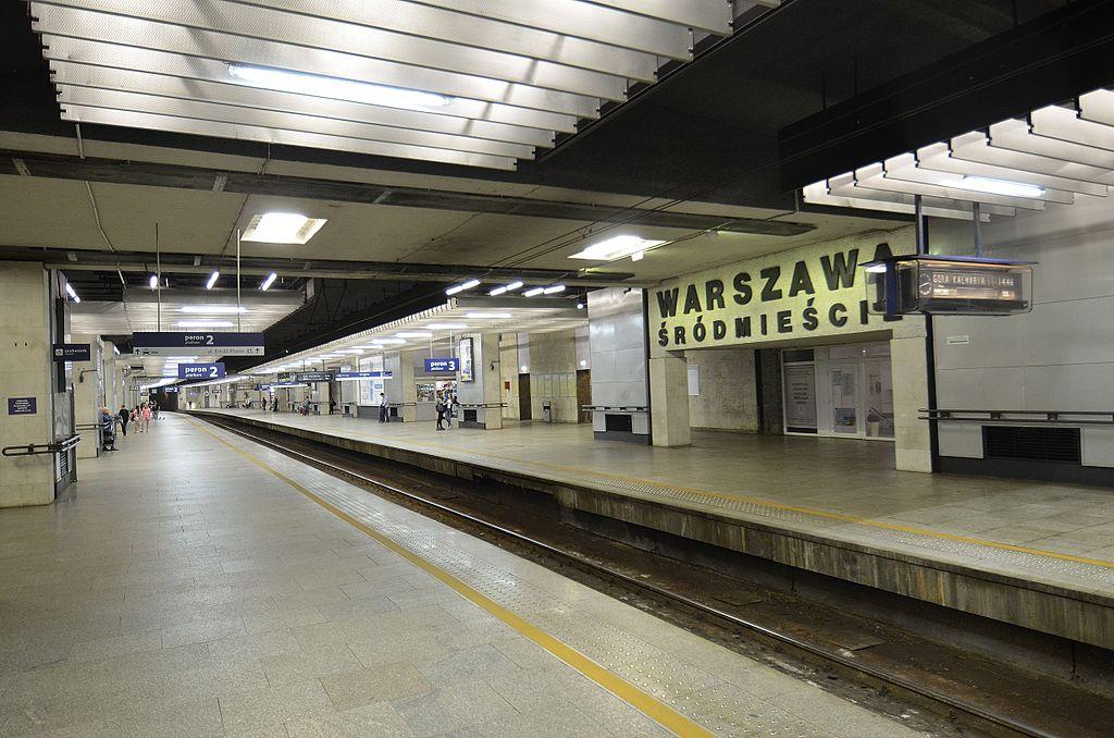Tydzień utrudnień na linii średnicowej w Warszawie