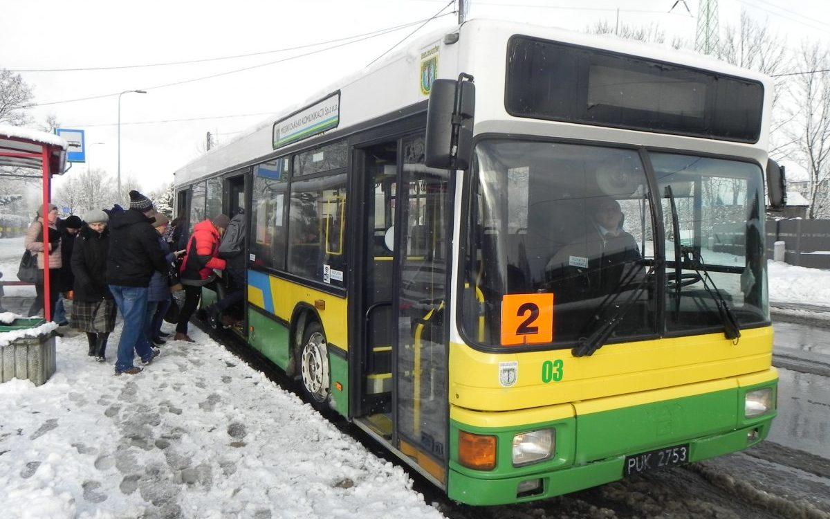 Darmowy transport miejski przyciąga pasażerów
