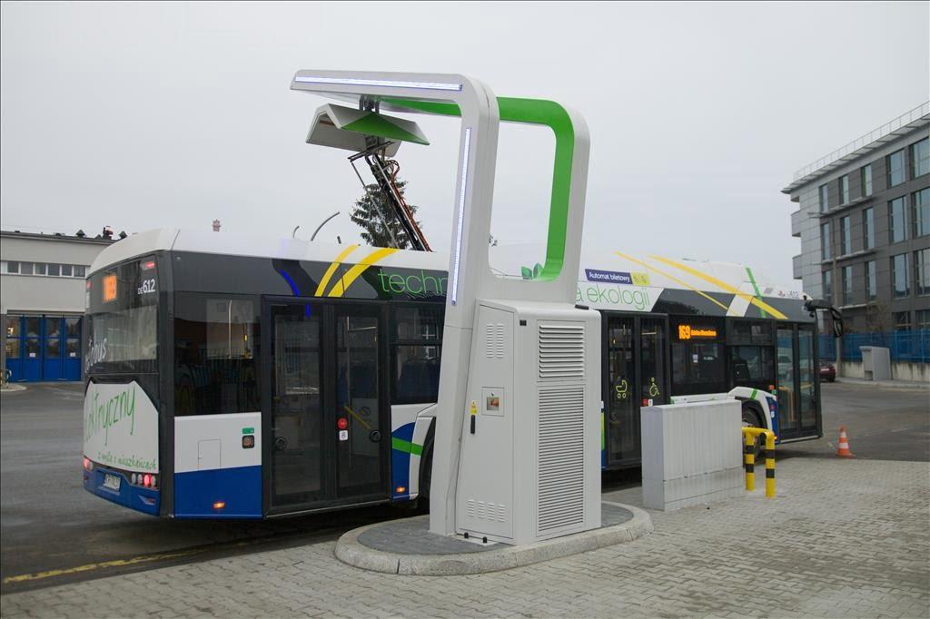 Miejskie autobusy elektryczne coraz popularniejsze