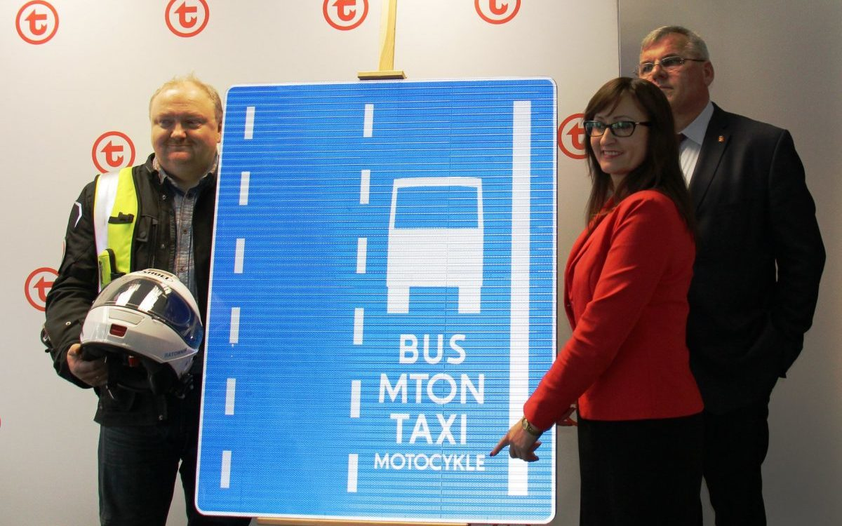 Warszawa: Motocykliści pojawią się na wybranych buspasach