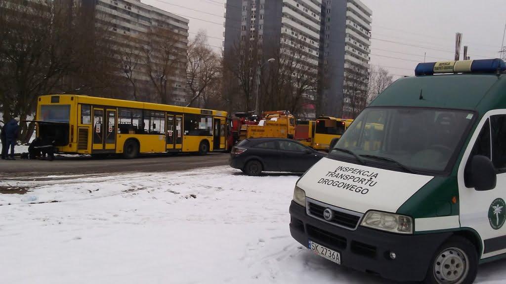 Miejskie autobusy w dobrym stanie technicznym