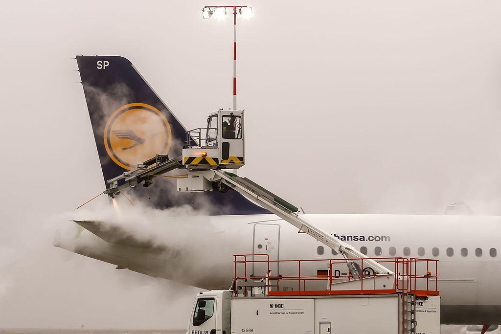 Wrocławskie lotnisko z drugim stanowiskiem odladzania