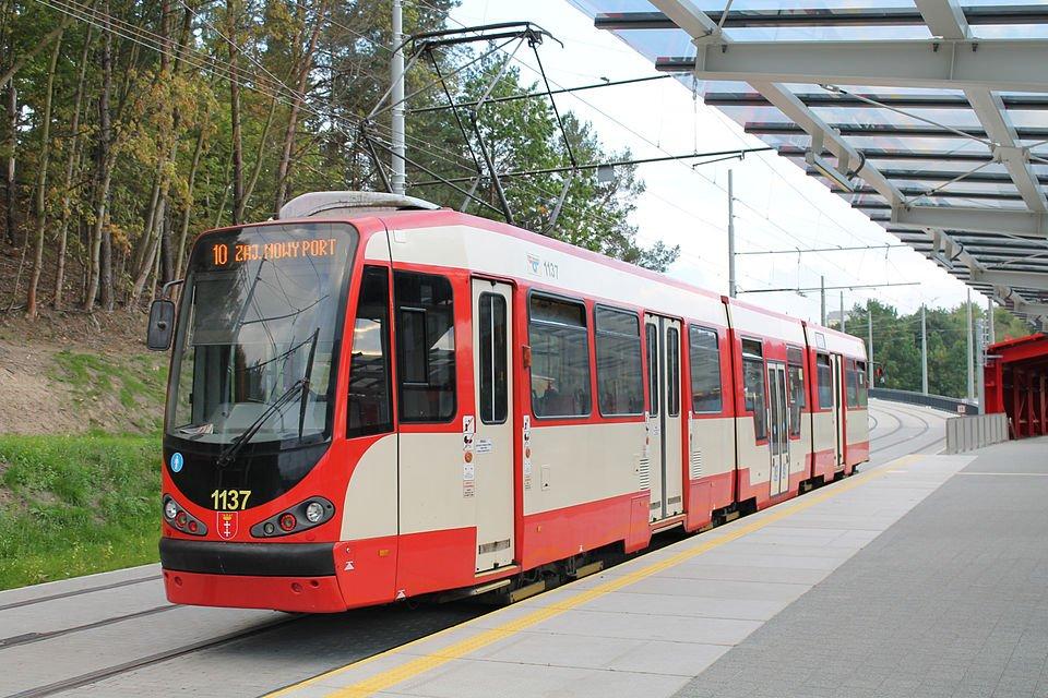 Gdańsk: tramwaje z Nowego Portu w znacznie gorszym stanie