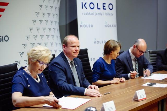 Polregio wznowiło współpracę z KOLEO!