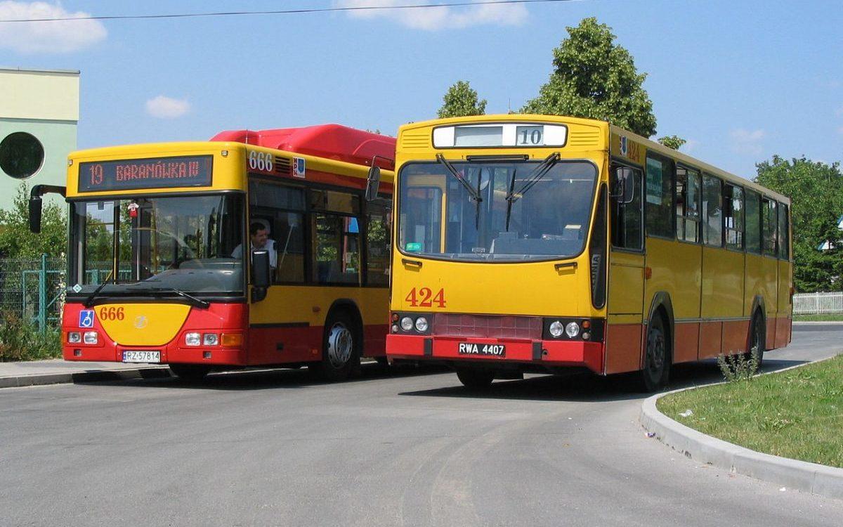 Nocne autobusy w Rzeszowie – wysokopodłogowe i bez monitoringu