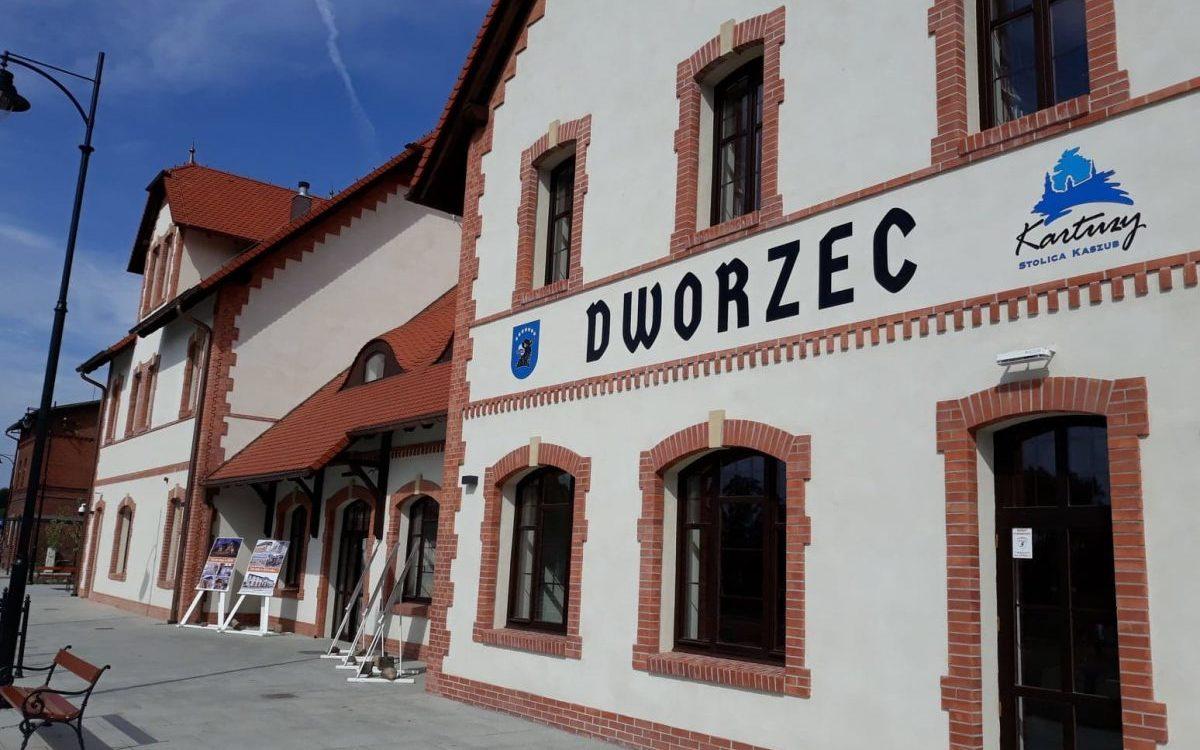 Dworzec w Kartuzach oddany do użytku