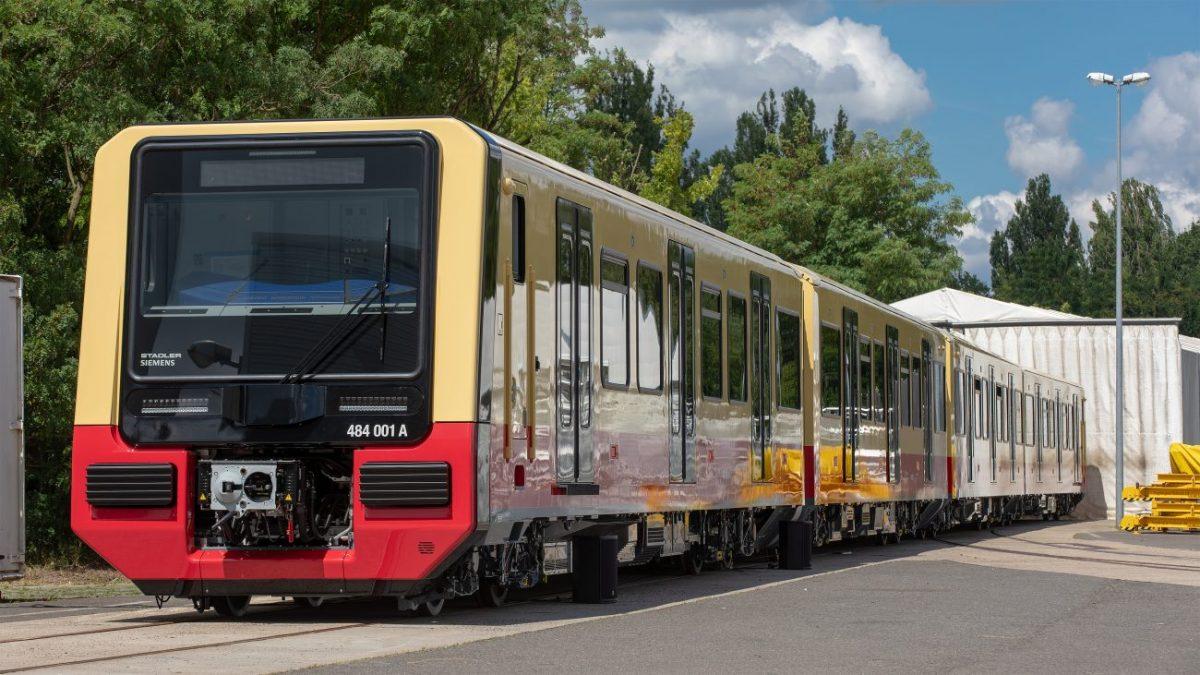 Pierwszy nowy skład berlińskiej S-Bahn gotowy