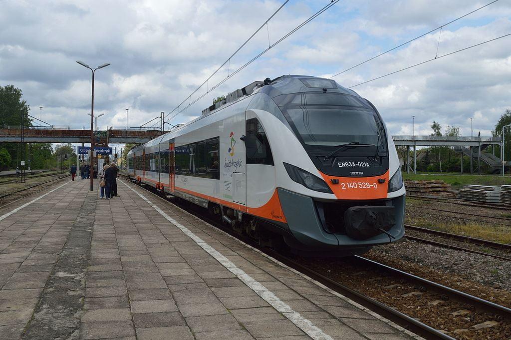 Wystartowały pociągi z Kielc do Buska – Zdroju