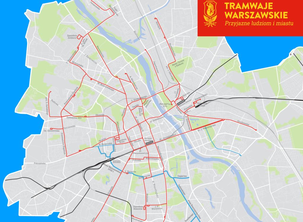 Tramwajem w tunelu dojedziemy do dworca Warszawa Zachodnia
