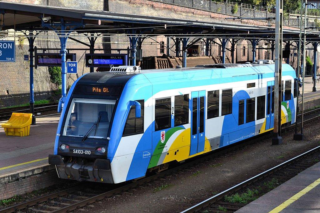 Pociąg ze Sławna do Darłowa zostanie po wakacjach