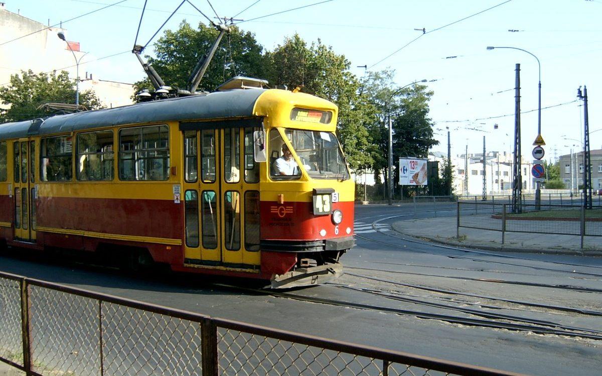 Kolejna kradzież przewodu trakcyjnego w Lutomiersku