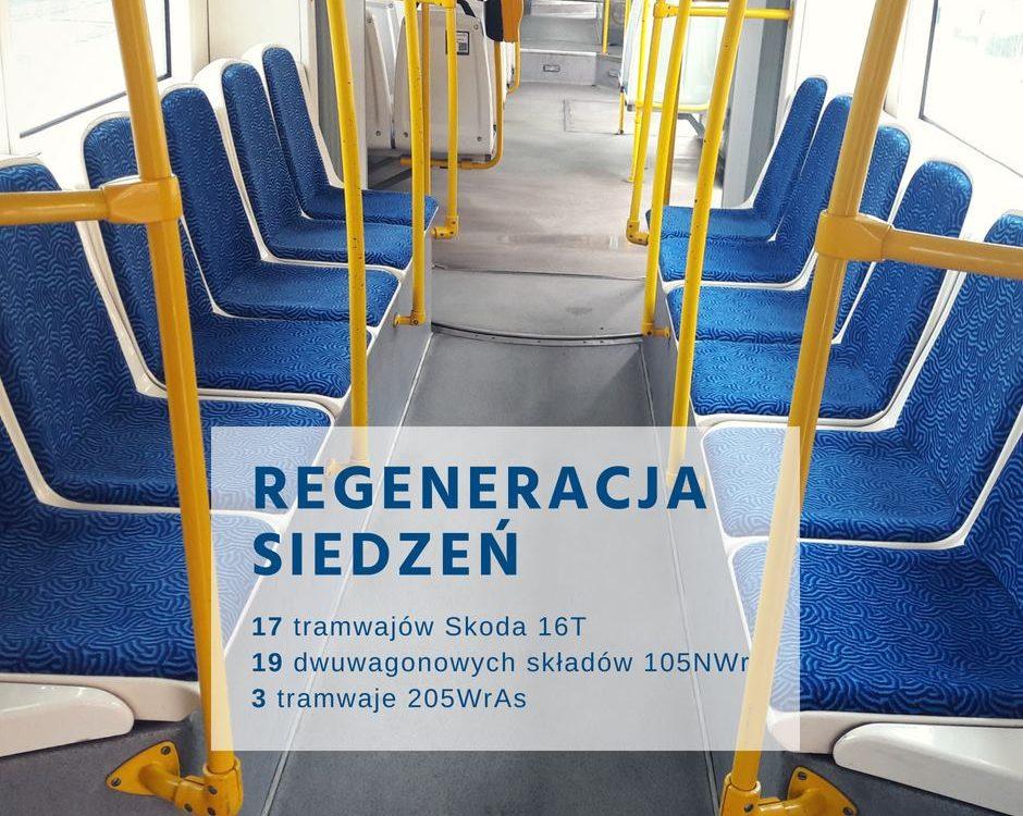 MPK Wrocław dba o siedzenia w tramwajach
