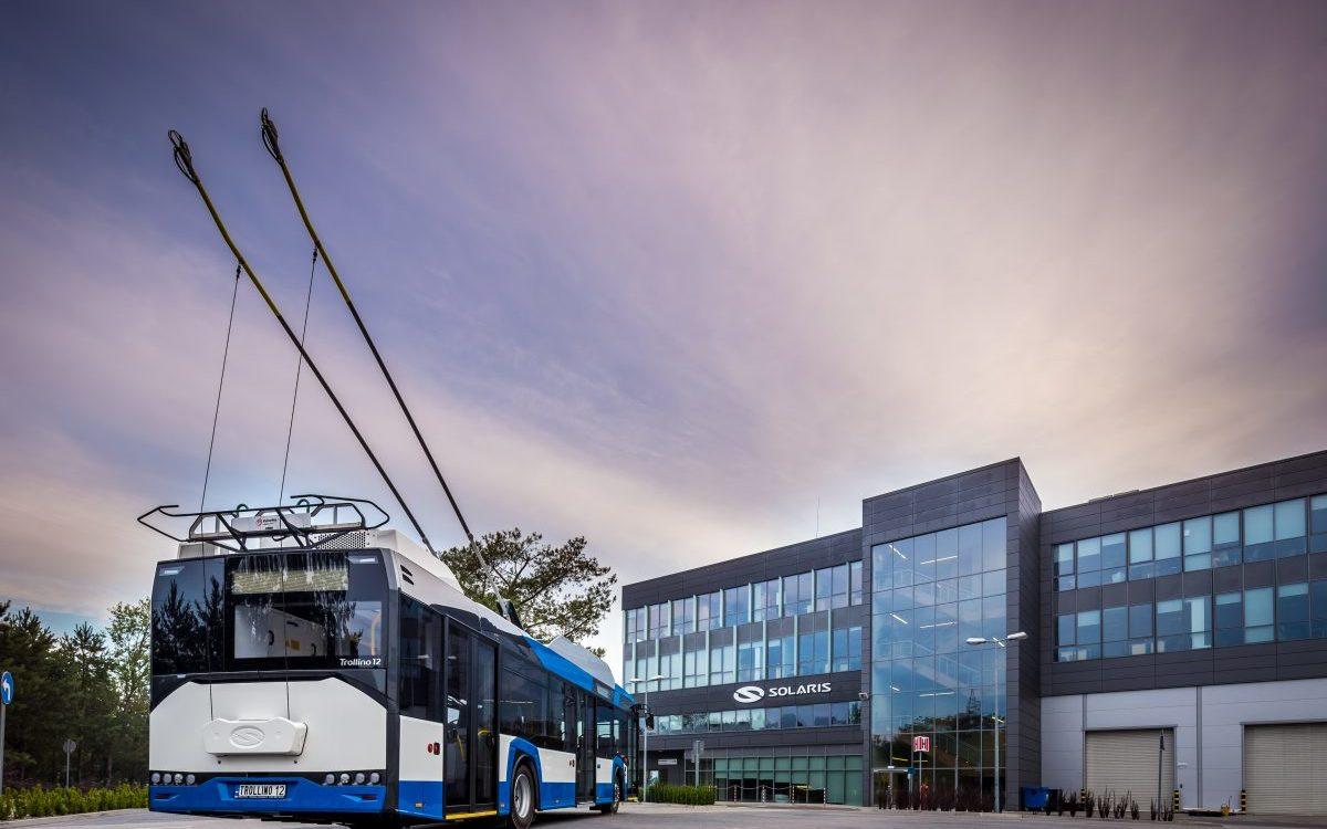 Solaris zaprezentował w Berlinie swój ulepszony trolejbus