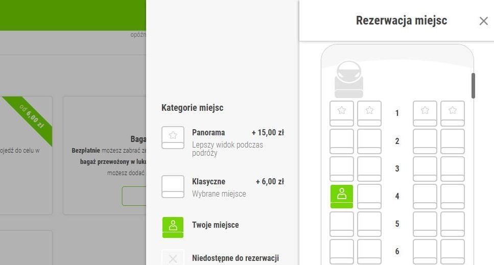 FlixBus testuje opcję rezerwacji miejsc w całym autobusie