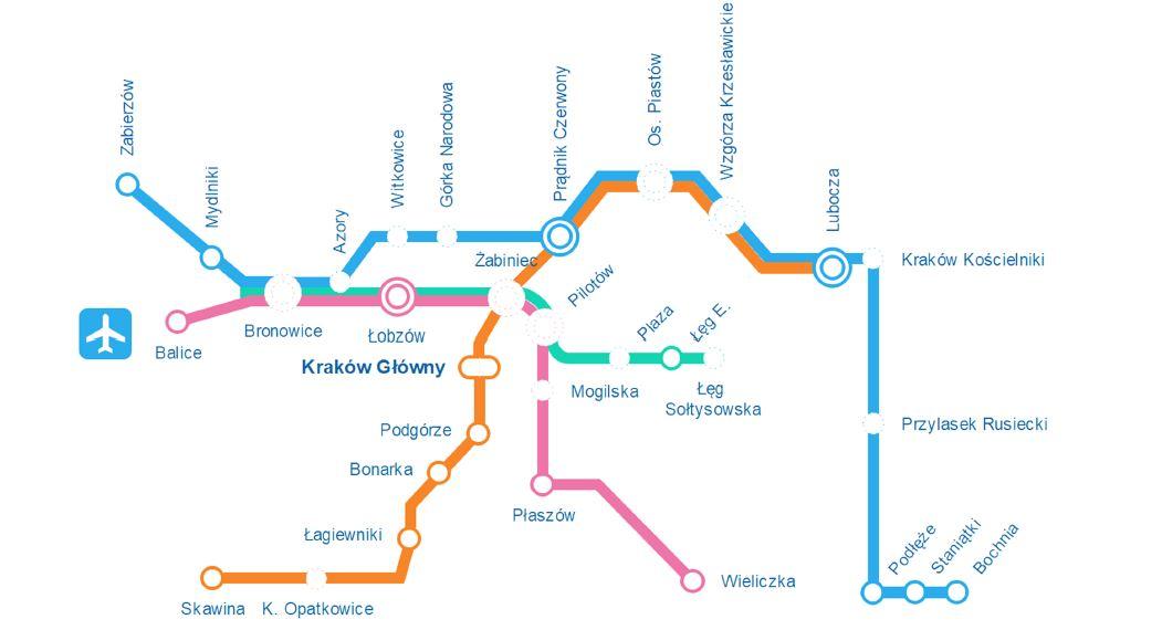 Kampania wyborcza. Międzydzielnicowa Kolej Miejska zamiast metra w Krakowie?