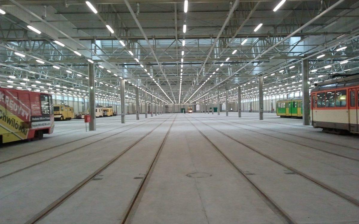 Największe zajezdnie tramwajowe w Polsce
