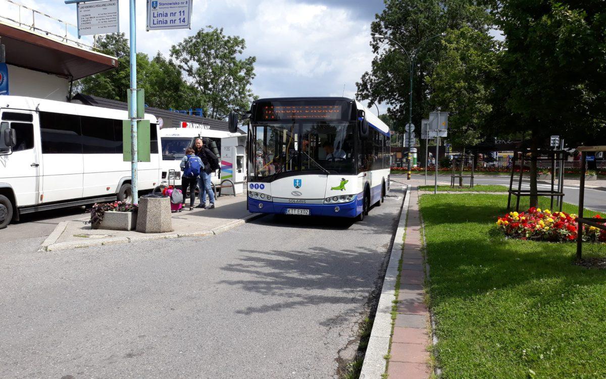 Miejskim autobusem przez polską stolicę Tatr – komunikacja miejska w Zakopanem
