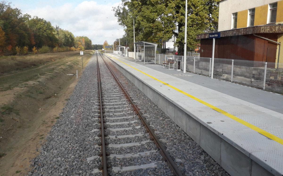 Ruciane-Nida, Pisz: oferta kolei po modernizacji linii kolejowej