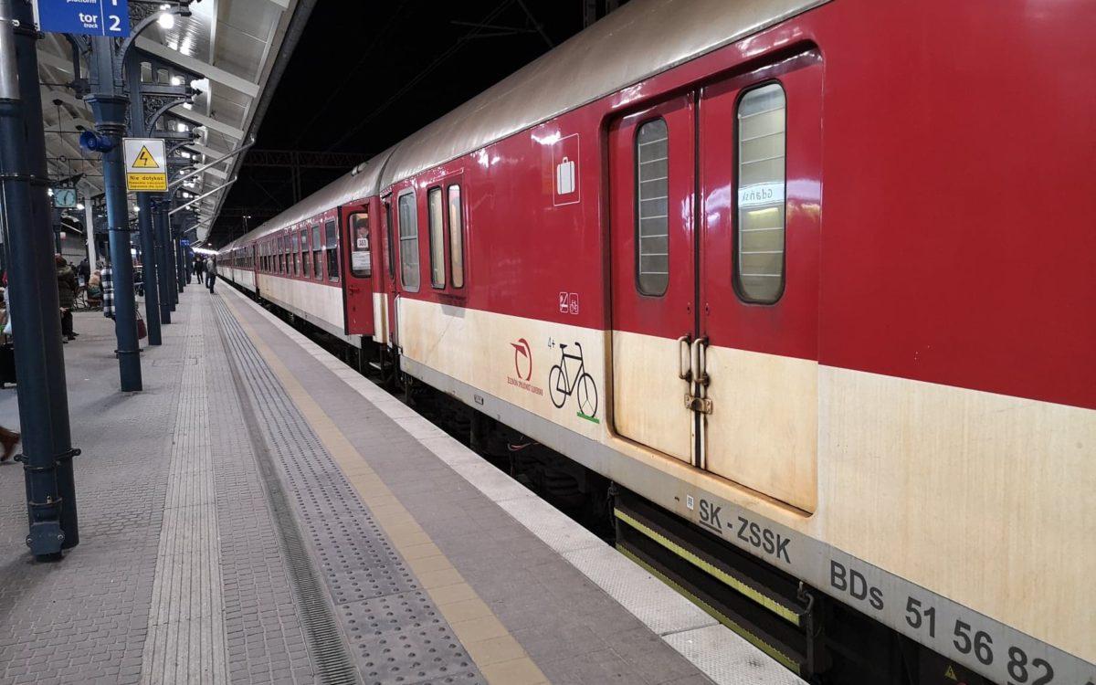 Słowackie wagony zagościły na polskich torach