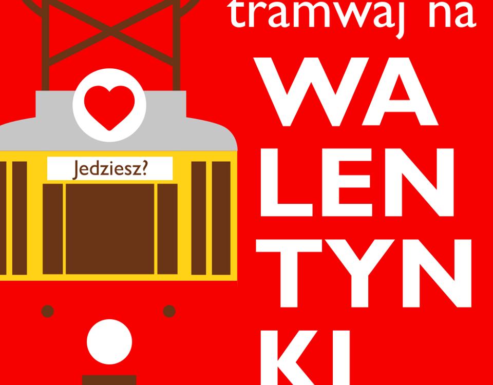 Walentynkowe tramwaje w Gdańsku, Warszawie i Katowicach